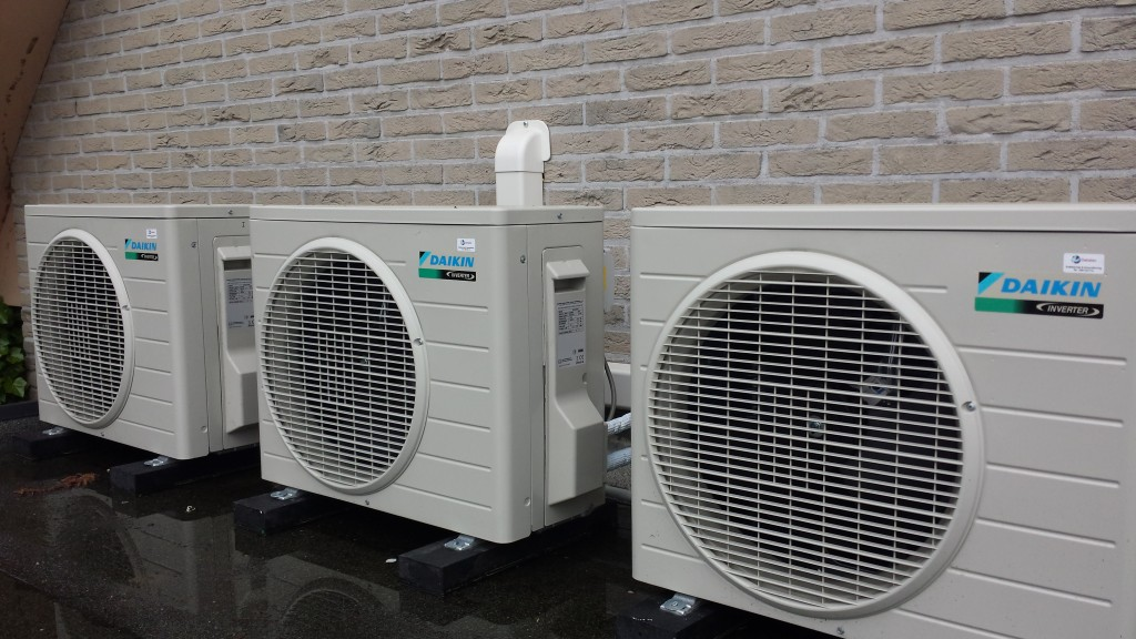 Dakopstelling Airconditioning
